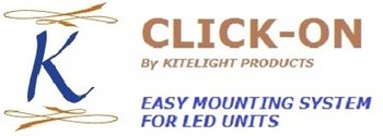 CLICK-ON MONTAGE SYSTEEM VOOR LED UNITS